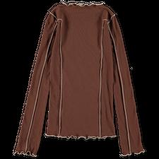 Baserange Omato Long Sleeve - Loam Brown