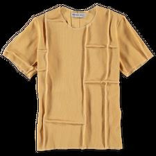 Kerne.Milk                                         River T-Shirt - Light Yellow