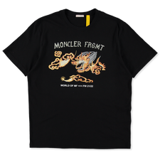 Moncler Genius                                     Hiroshi Fujiwara Maglia T-Shirt - Black