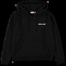 Moncler Genius                                     Hiroshi Fujiwara Logo Hoodie - Black