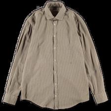 Massimo Alba Canary Micro Check Shirt - Blue/Yellow