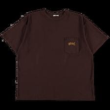 Bode                                               Boxy Pocket Tee Shirt - Brown