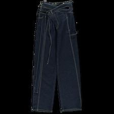 Ottolinger                                         Signature Wrap Jeans - Deep Blue