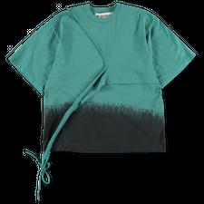 Ottolinger                                         Otto Wrap T-shirt Petrol Dip - Petrol Black Dip