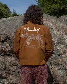 Bode                                               Monday Jacket - Brown