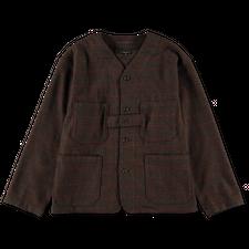Engineered Garments  Cardigan Jacket - Olive Brown