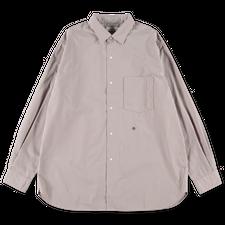 Nanamica Regular Collar Wind Shirt - Pale Brown