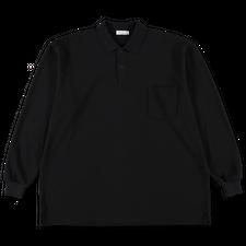 Nanamica L/S Polo Shirt - Black
