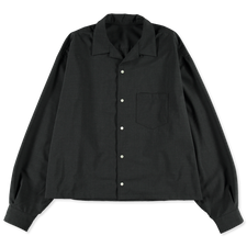 Sillage                                            Essential Overshirt - Charcoal