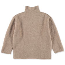 AIAYU Teddy Sweater - Pure Camel