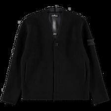 Stone Island Shadow Project Mix Wool Hand Gauzed Cardigan 7519501D2 V1029 - Black