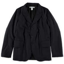 Comme des Garçons SHIRT Padded Wool Jacket - Navy