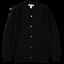 Comme des Garçons SHIRT Wool Cardigan - Black