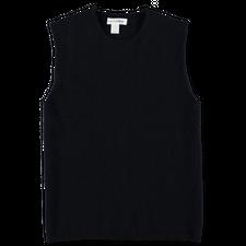 Comme des Garçons SHIRT Knitted Roundneck Vest - Navy