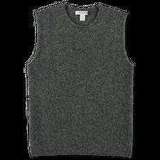 Comme des Garçons SHIRT Knitted Roundneck Vest - Grey