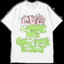 Comme des Garçons SHIRT CDG Shirt x KAWS T-Shirt - White/Print 4