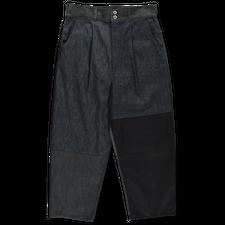 Comme des Garçons Homme                            Patchwork Denim Trousers - Indigo Mix