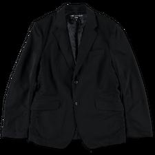 Comme des Garçons Homme                            Two Button Wool Jacket - Dark Navy