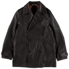 Our Legacy                                         DB Buta Coat - Mud Dyed Cotton