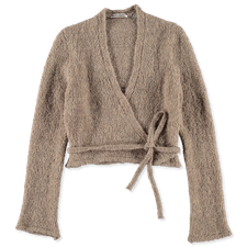 Our Legacy                                         Wrap Knit Boucle - Beige