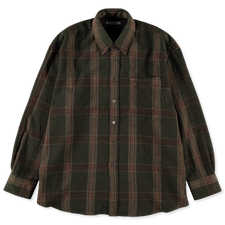 Our Legacy                                         Borrowed BD Shirt - Green Check