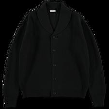 Margaret Howell Shawl Collar Cardigan - Black