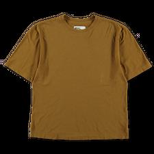 Margaret Howell MHL Simple T-Shirt - Mustard