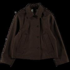 Margaret Howell MHL Asymmetric Slant Pocket Jacket - Chestnut