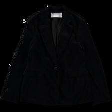 Harris Wharf London Velvet Blazer - Black