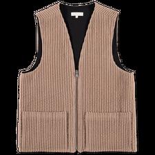 mfpen Portray Vest - Beige Cord