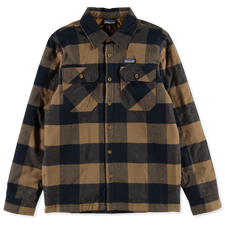 Patagonia M's Insulated Fjord Flannel Shirt - Timber Brown