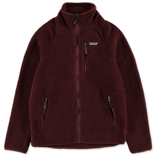 Patagonia M's Retro Pile Jacket - Dark Ruby