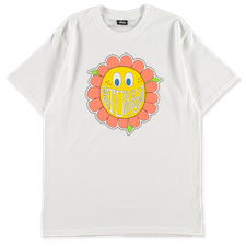 Stüssy Happy Flower Tee - White