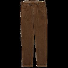 Massimo Alba Winch 2 Velvet Trouser - Light Brown