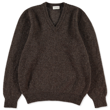 Lemaire Seamless V-Neck Sweater - Eagle