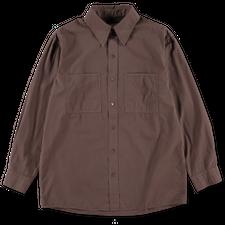 Lemaire Patch Pocket Shirt - Chestnut
