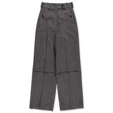 Lemaire Soft High Waisted Pants - Taupe Grey