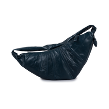 Lemaire Large Croissant Bag - Midnight Green