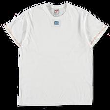 Main Nué                                           Collage T-Shirt - White/Blue