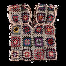 Main Nué                                           Crochet Vest - Multi