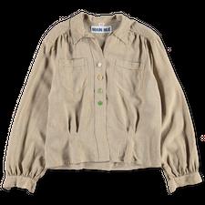 Main Nué                                           Button shirt - Brown