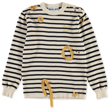 Main Nué                                           Moth knit - Stripe