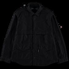 Comme des Garçons Homme                            Washed Shirt Jacket - Navy