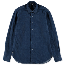 Nitty Gritty® Made By Xacus                        One Wash Denim Shirt - Navy