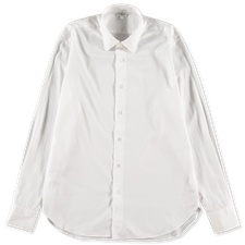 Nitty Gritty® Made By Xacus                        Washed Lt Twill Shirt - White