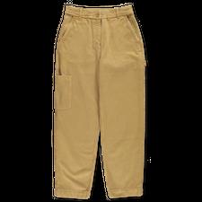 Toast                                              Garment Dyed Carpenter Trousers - Lichen