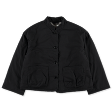 Toast                                              Cotton Twill Quilted Jacket - Anthracite