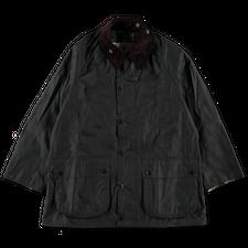 Barbour White Label                                  Oversized Beaufort Wax Jacket - Sage