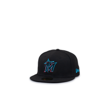 New Era 59FIFTY Miami Marlins - Black