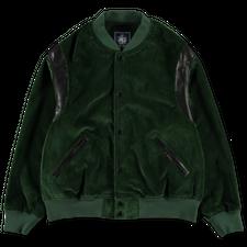 J.Press                                            Corduroy Varsity Jacket - Green